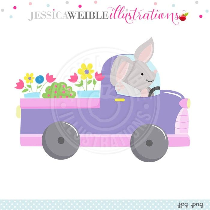 Iiii clipart bunny Create Flower Illustrations images with