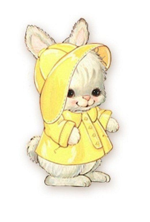 Iiii clipart bunny On Bunnies Decoupage Pinterest Laminas