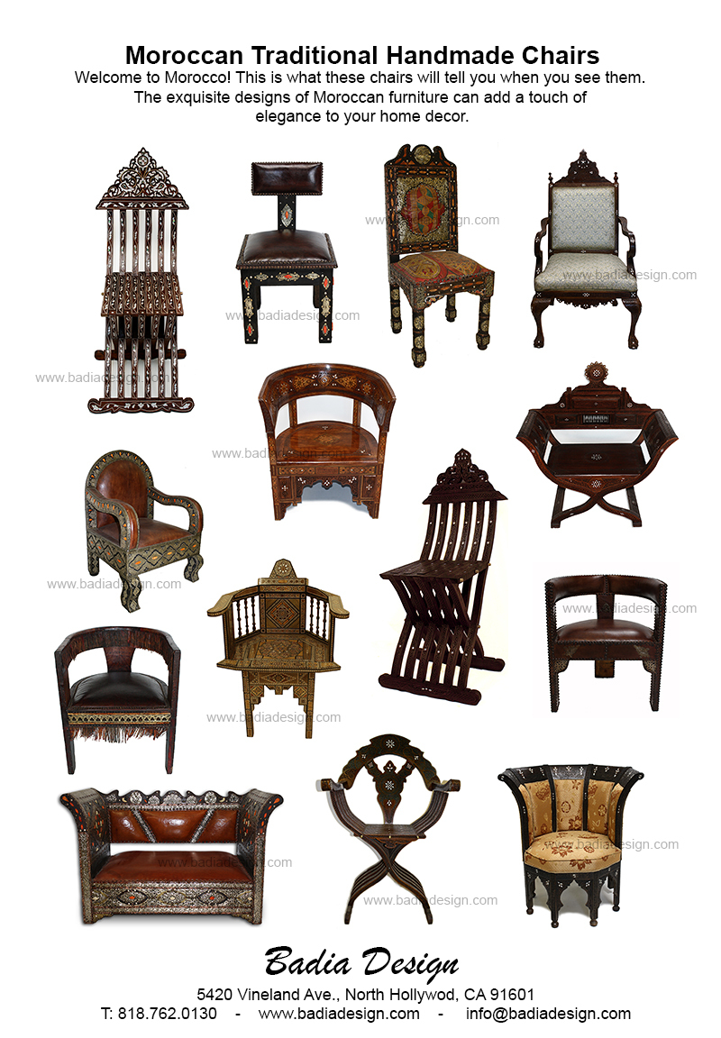 Iiii clipart chair Moroccan Los  Furniture Chairs