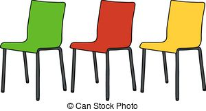 Iiii clipart chair Clip Vector csp7951928 Armchair