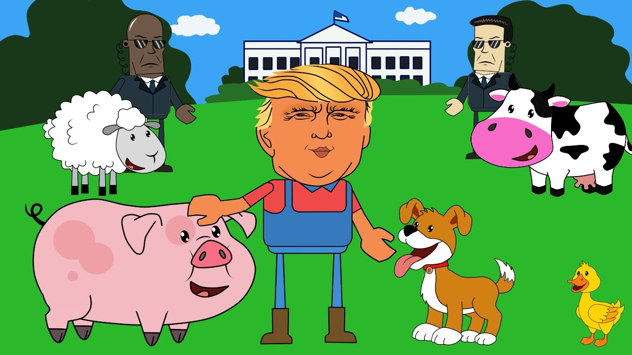Iiii clipart cow A A MacDonald Old Trump