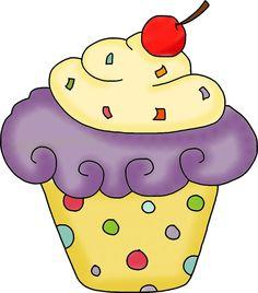 Iiii clipart cupcake Pinterest Girl Cupcake Cupcakes Cupcake