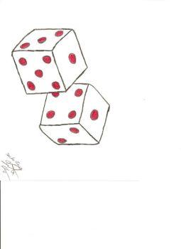 Iiii clipart dice DeviantArt Explore loss snke gamblers