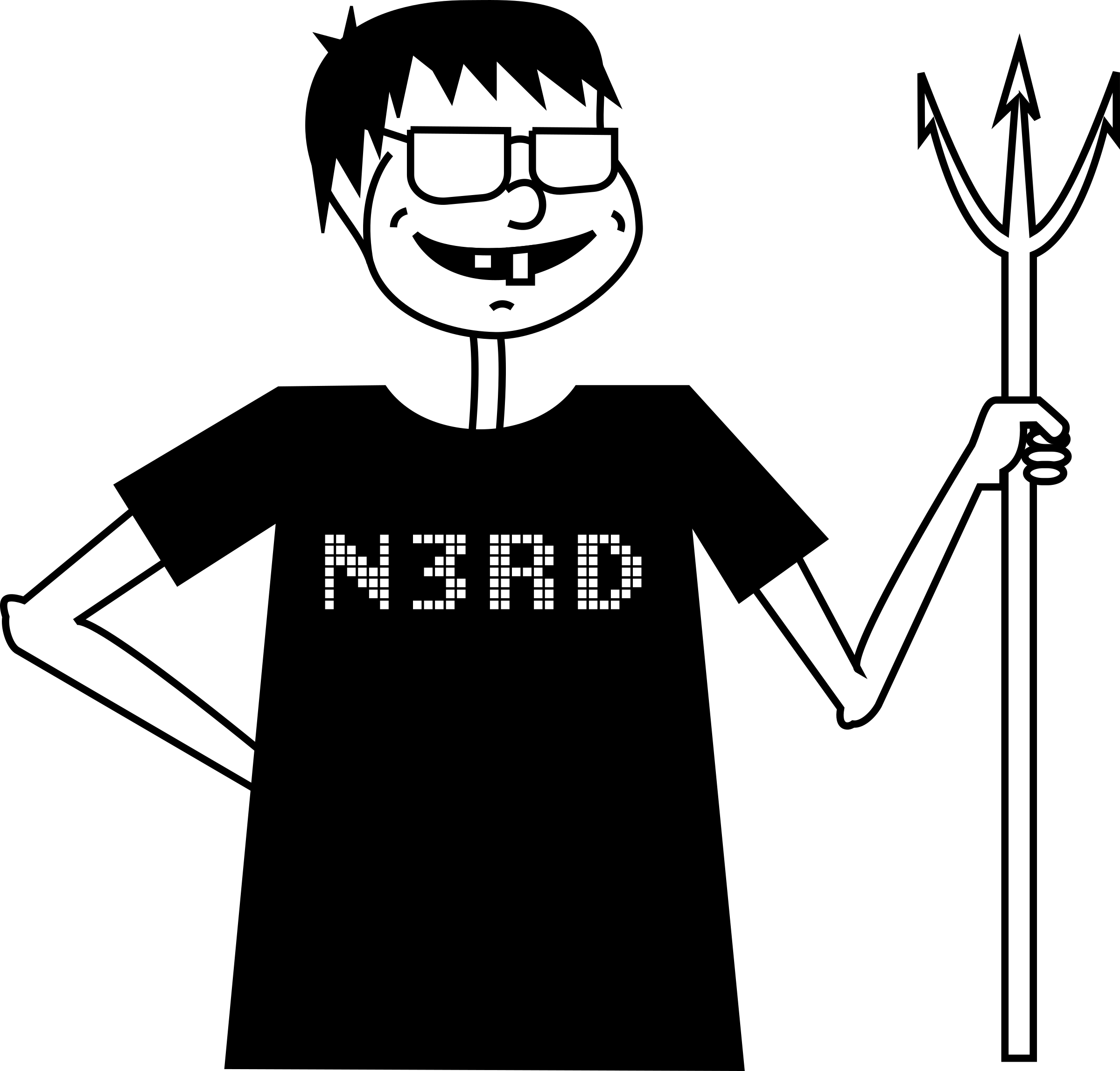 Suggestions person for  Nerd
