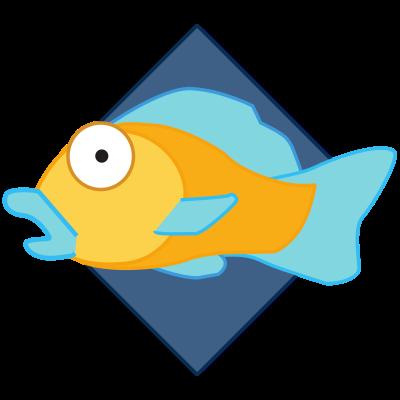 "Iiii clipart fish Org XiphWiki Logo ""Fish"" Logos"