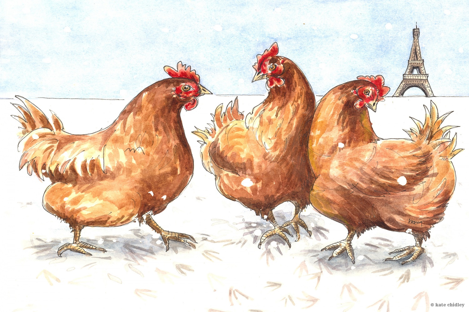 Iiii clipart french hen French Chidley Hens undefined french