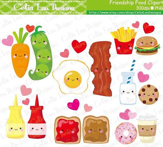 Iiii clipart friend Cartoon Food Best Friendship collection
