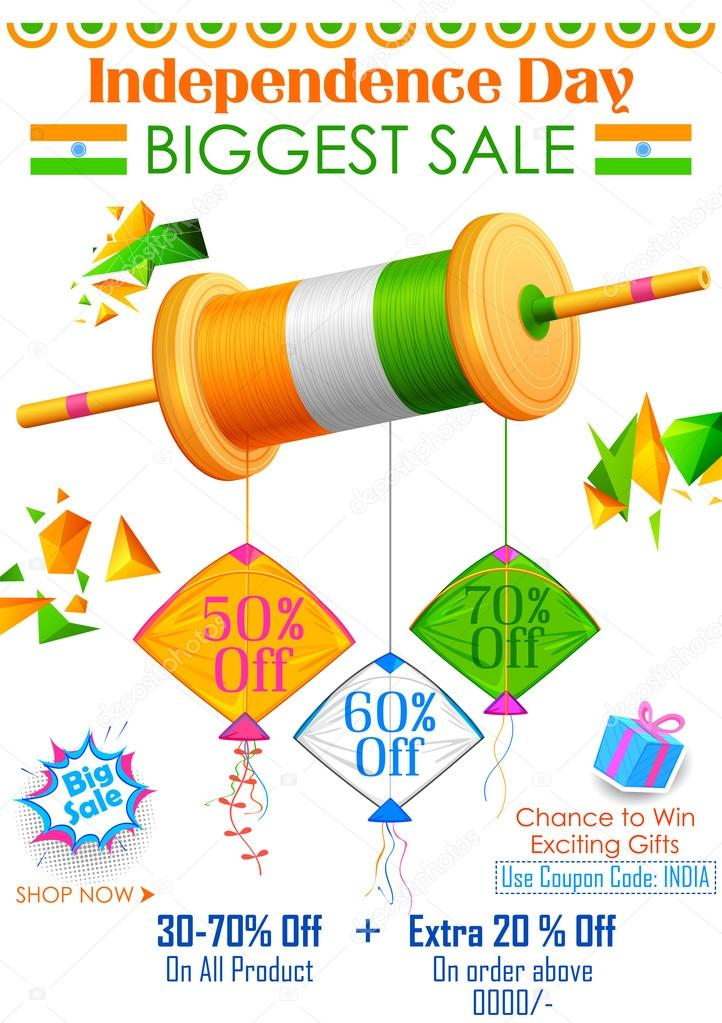 Iiii clipart kite With — Tricolor banner