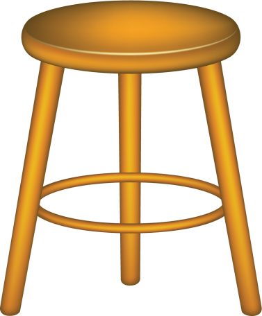 Iiii clipart legged stool #9