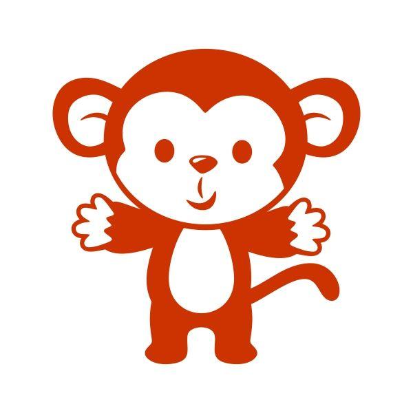 Iiii clipart little monkey About Available Scrapbooking Little Cuttable