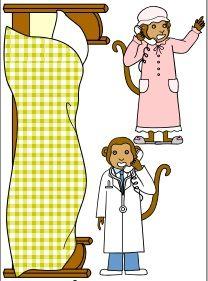 Iiii clipart little monkey Dagpleje images P3 FIVE free