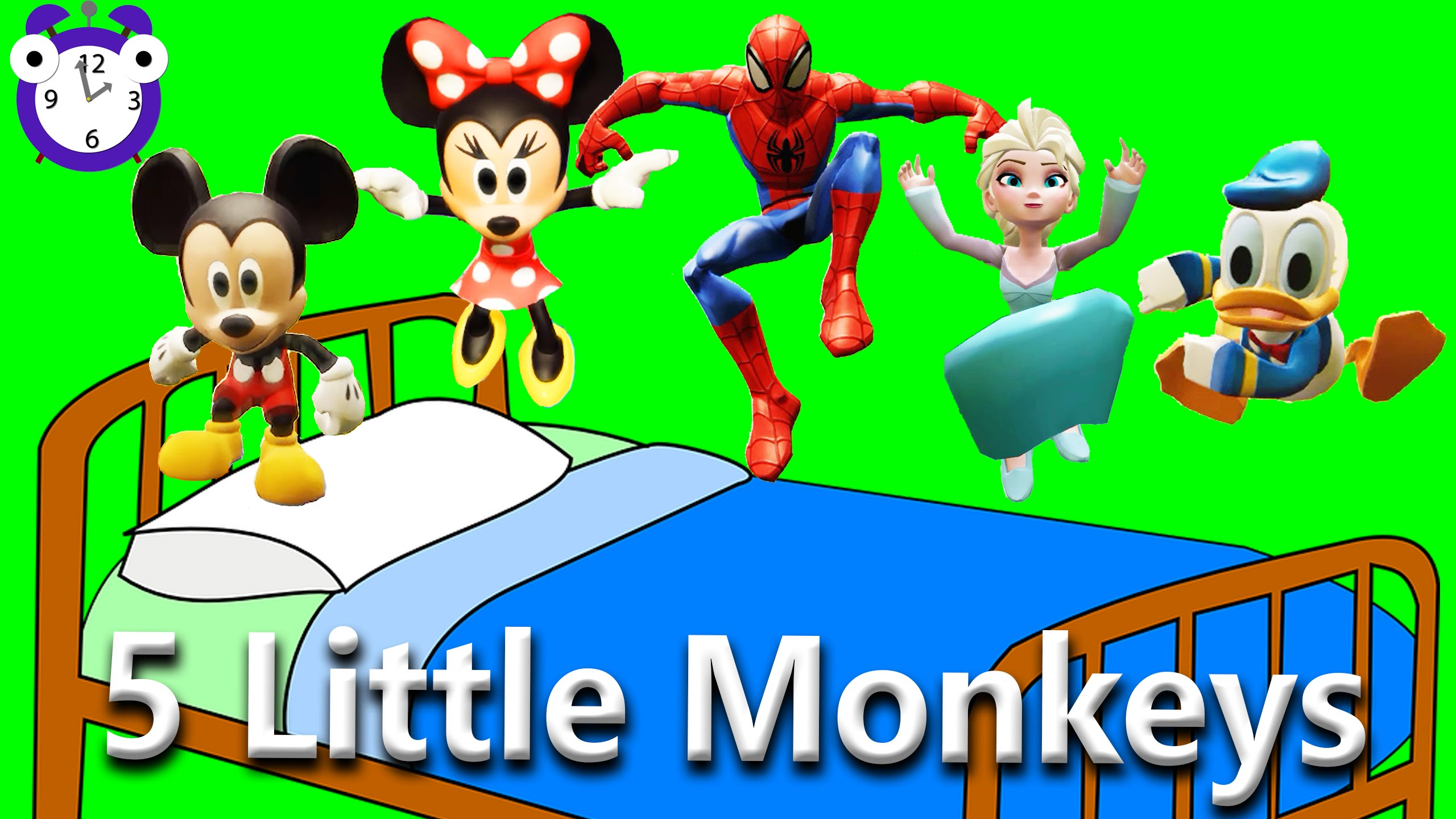 Iiii clipart little monkey Disney on Monkeys Five Characters