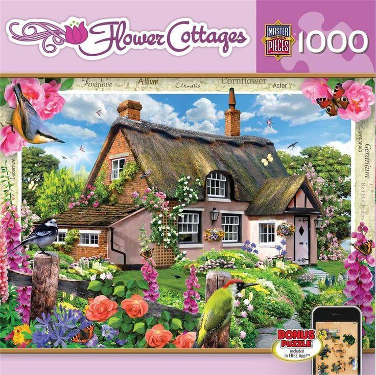 Iiii clipart piece jigsaw Cottage Foxglove 1000 best Jigsaw