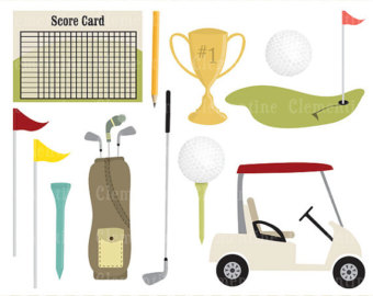 Iiii clipart pin plug Royalty clip art images Golf