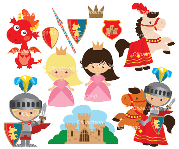 Iiii clipart princess Personal Download Knight from clip