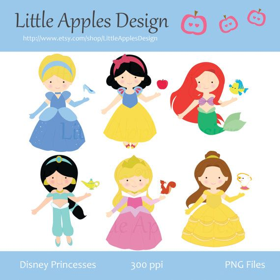 Iiii clipart princess Little Cute images CLIPART Commercial