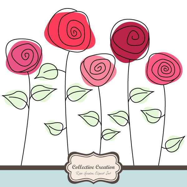 Iiii clipart rose Garden Free Art Free Images