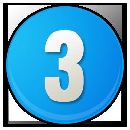 Iiii clipart three Number 3 klejonka Number Download