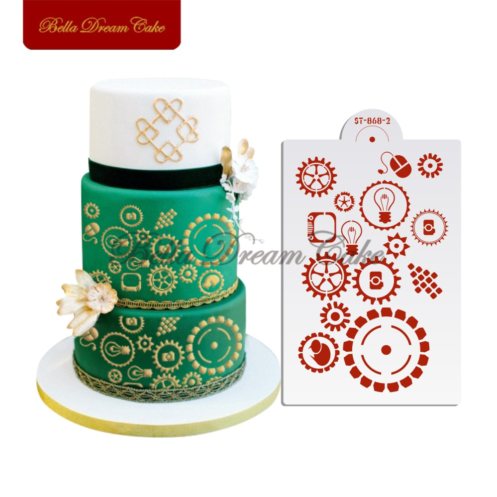 Iiii clipart tier cake Cookies Cake Template Gear Decoration