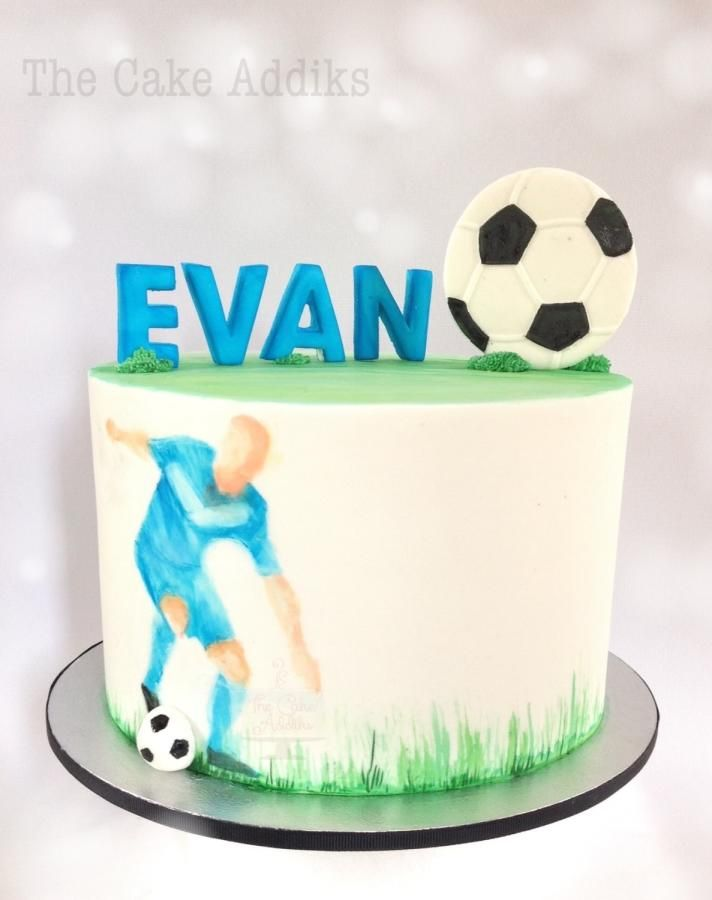 Iiii clipart tier cake Images thecakeaddiks football Cake on