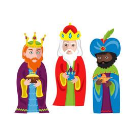Iiii clipart wise man Men to isolated Vector Jesus