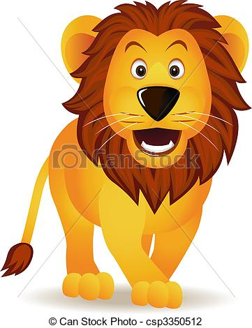 Lion clipart funny #8