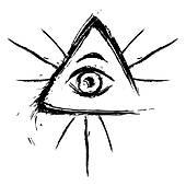 Illuminati clipart Illuminati Free Clip All Retro