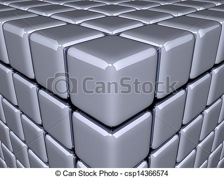 Illusion clipart 3d cubes Illusion Cubes Optical csp14366574 Stock