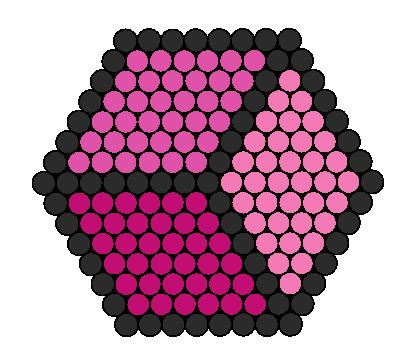 Illusion clipart 3d cubes Bead Cube Pattern Sprite 3d