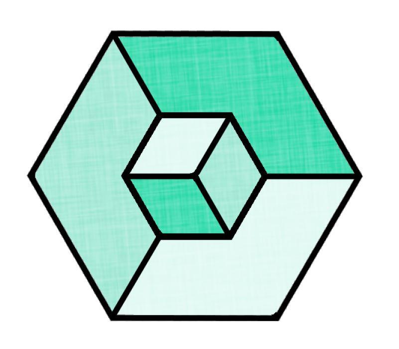 Illusion clipart 3d cubes 3D a PaintShop with 3D