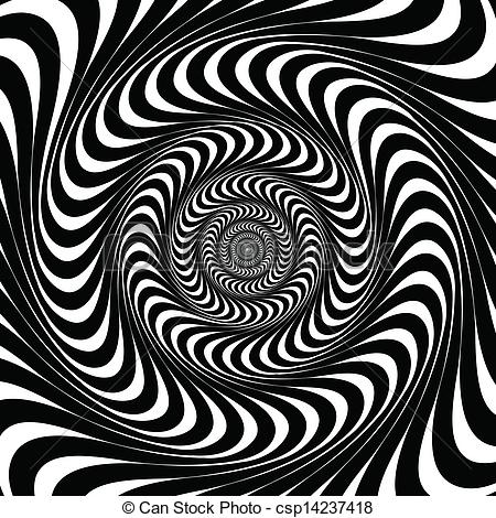 Optical Illusion clipart stripes Of Black csp14237418  lines