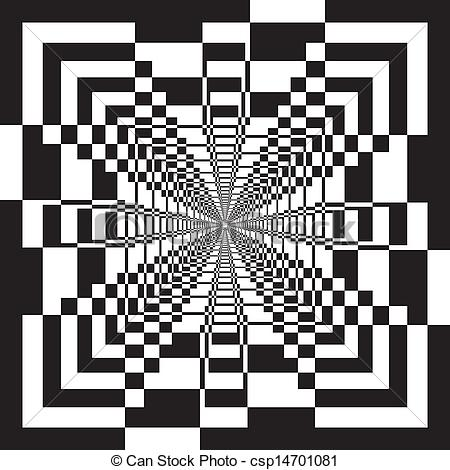 Illusion clipart abstract art Illusion structure geometrycal arabesque Clip