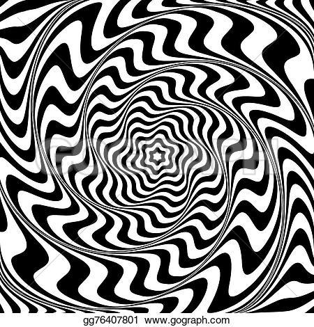 Illusion clipart abstract art Op abstract  gg76407801 of