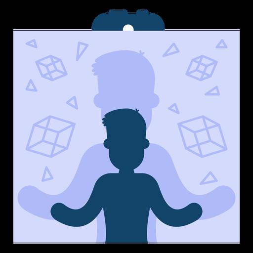 Illusion clipart acknowledgement Virtual Simulation reality vector Illusion