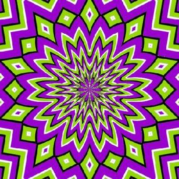 Optical Illusion clipart apparent motion #1