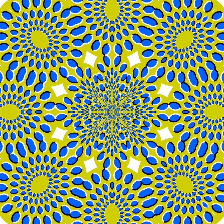 Optical Illusion clipart apparent motion #4