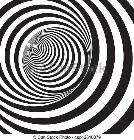 Illusion clipart art black and white Relief A black Optical and
