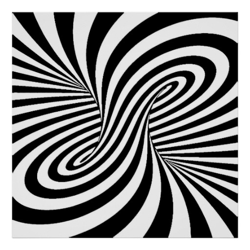Illusion clipart art black and white Illusion Black white  patterns