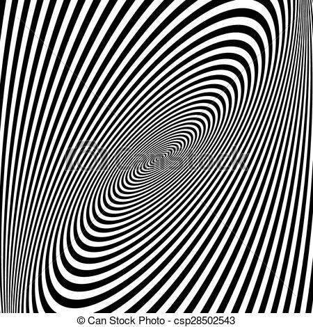 Illusion clipart background Of Black white optical