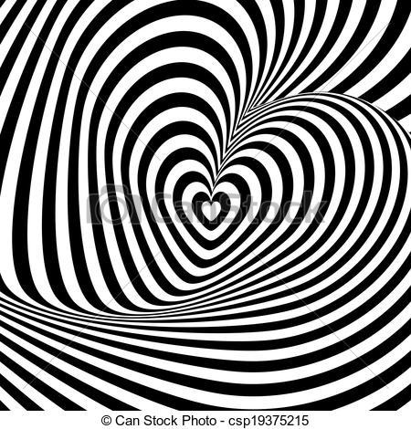 Illusion clipart background Design illusion csp19375215 rotation Vector