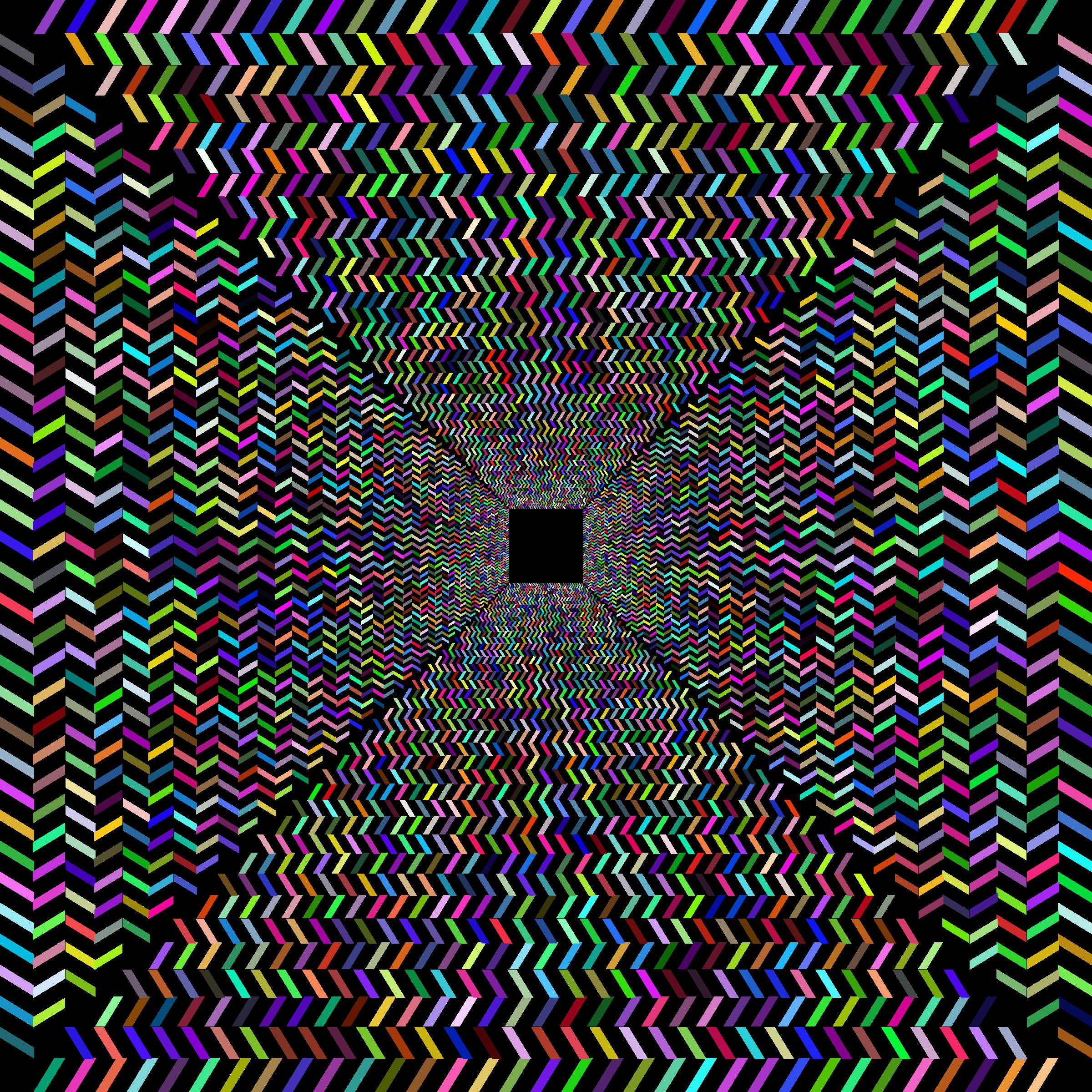 Illusion clipart background No No Clipart Prismatic Corridor