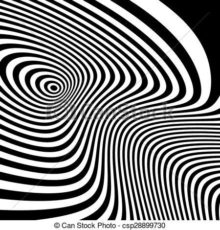 Illusion clipart background Pattern Black white illusion