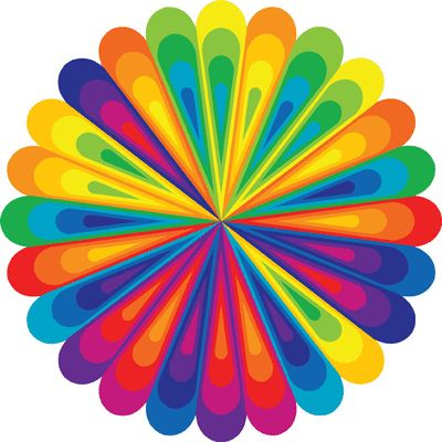 Optical Illusion clipart colourful  on ideas 17 about
