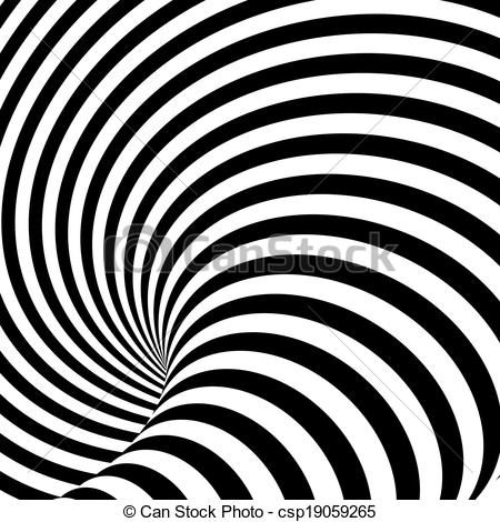 Illusion clipart distortion Illusion backdrop Vector of motion