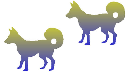Optical Illusion clipart dog Dogs Illusions Few More solution