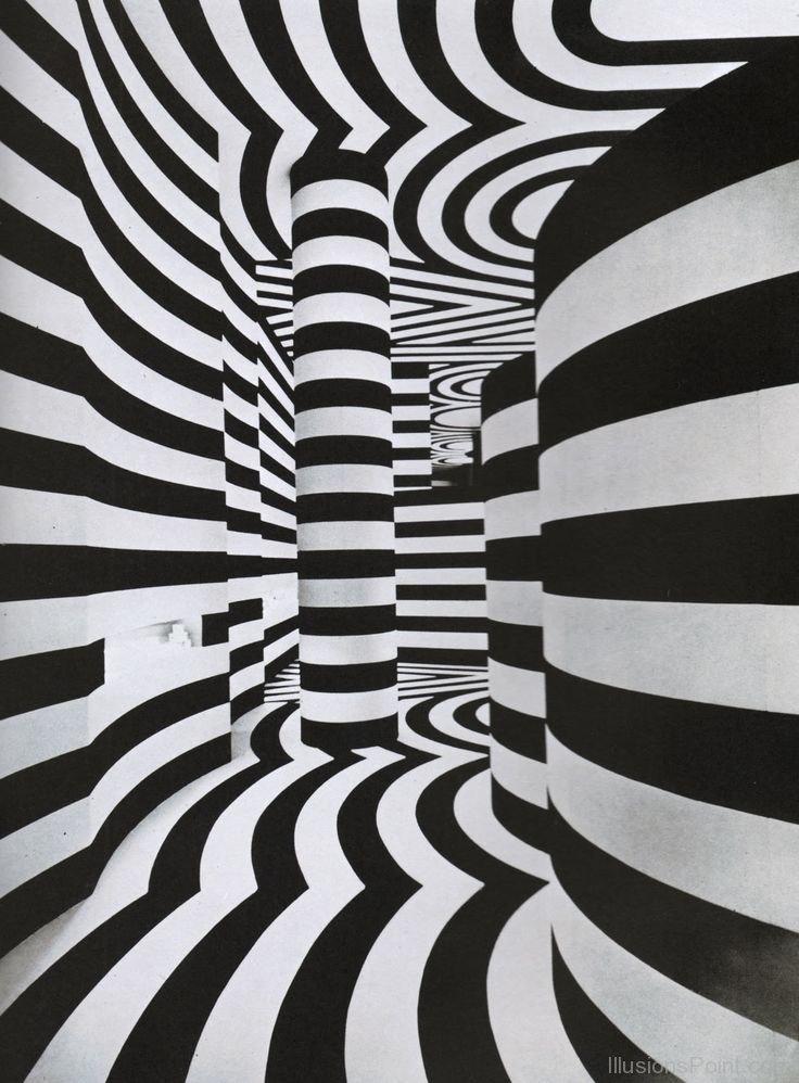 Illusion clipart acknowledgement Illusion of Black White Optical