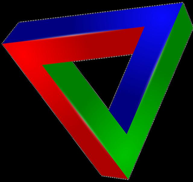 Illusion clipart eye Illusion Triangle triangle eye eye