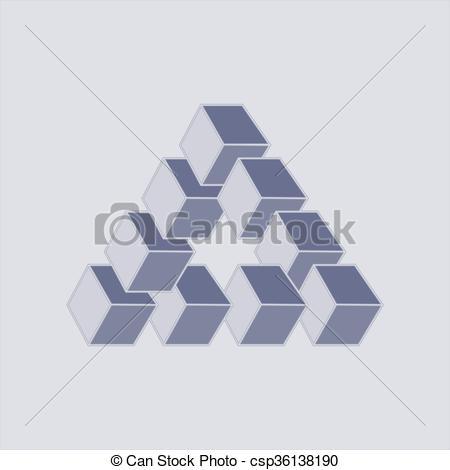 Optical Illusion clipart graphic design #12
