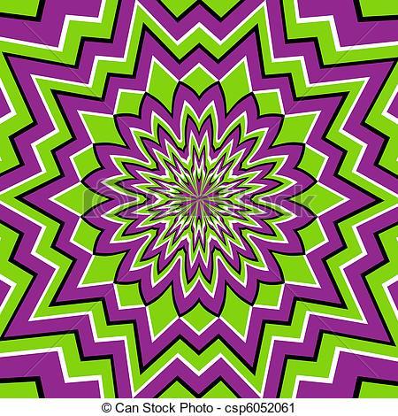 Illusion clipart geometric shape Optical  Illusion Art Optical