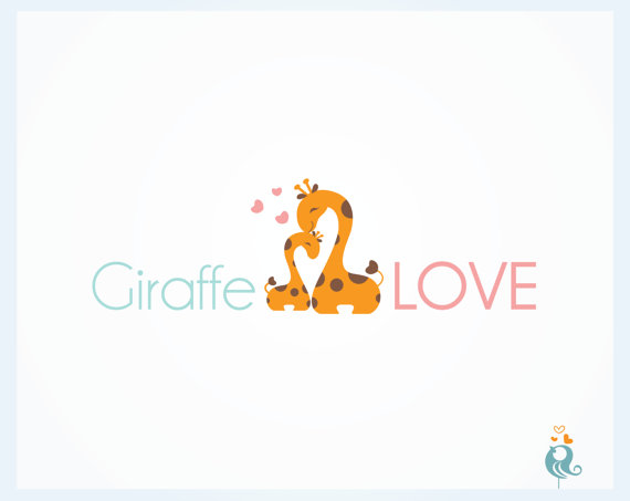 Illusion clipart giraffe Illusion Negative Design Custom Custom